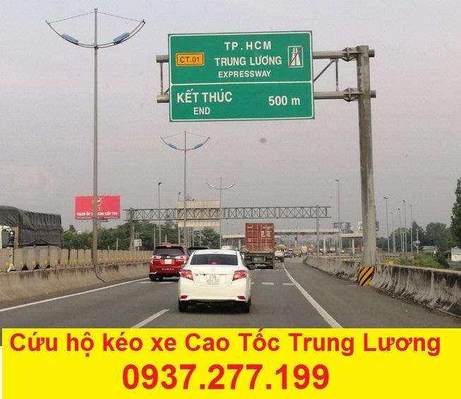 Cứu hộ kéo xe cao tốc Trung Lương