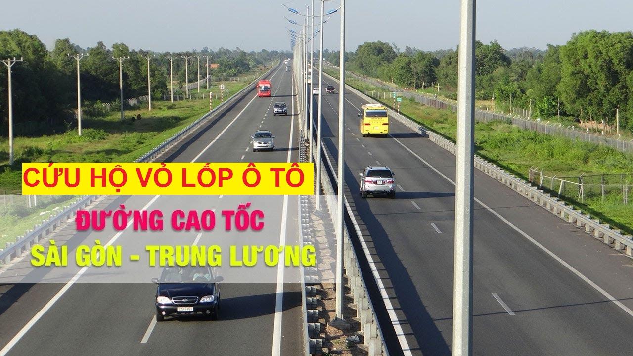 Cứu hộ lốp cao tốc Trung Lương